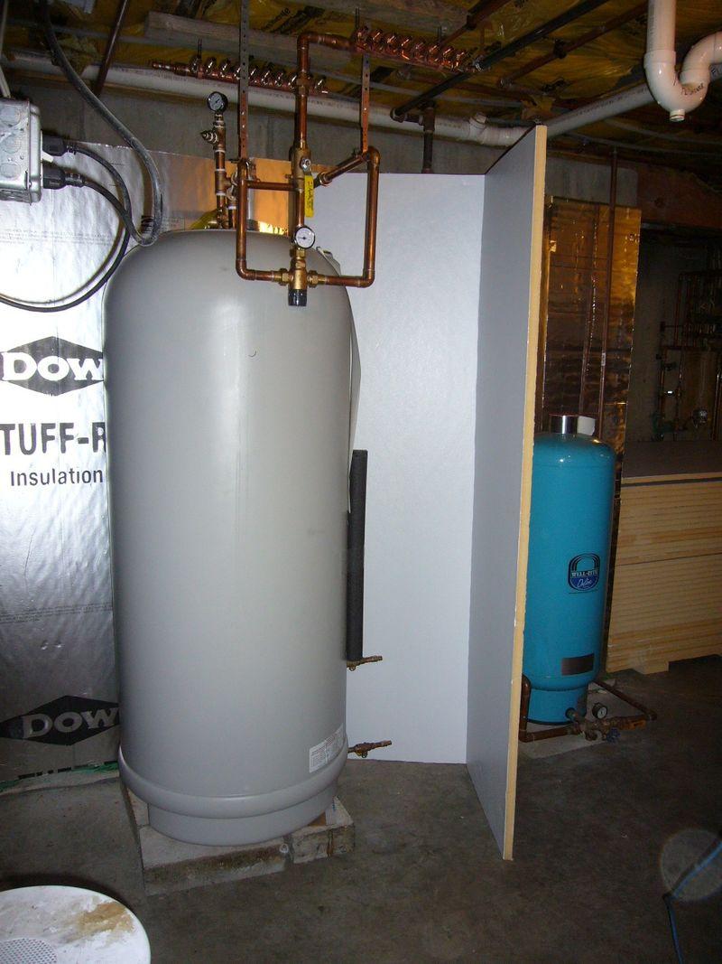 Bent foam install