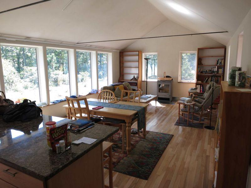 Interior looking SW