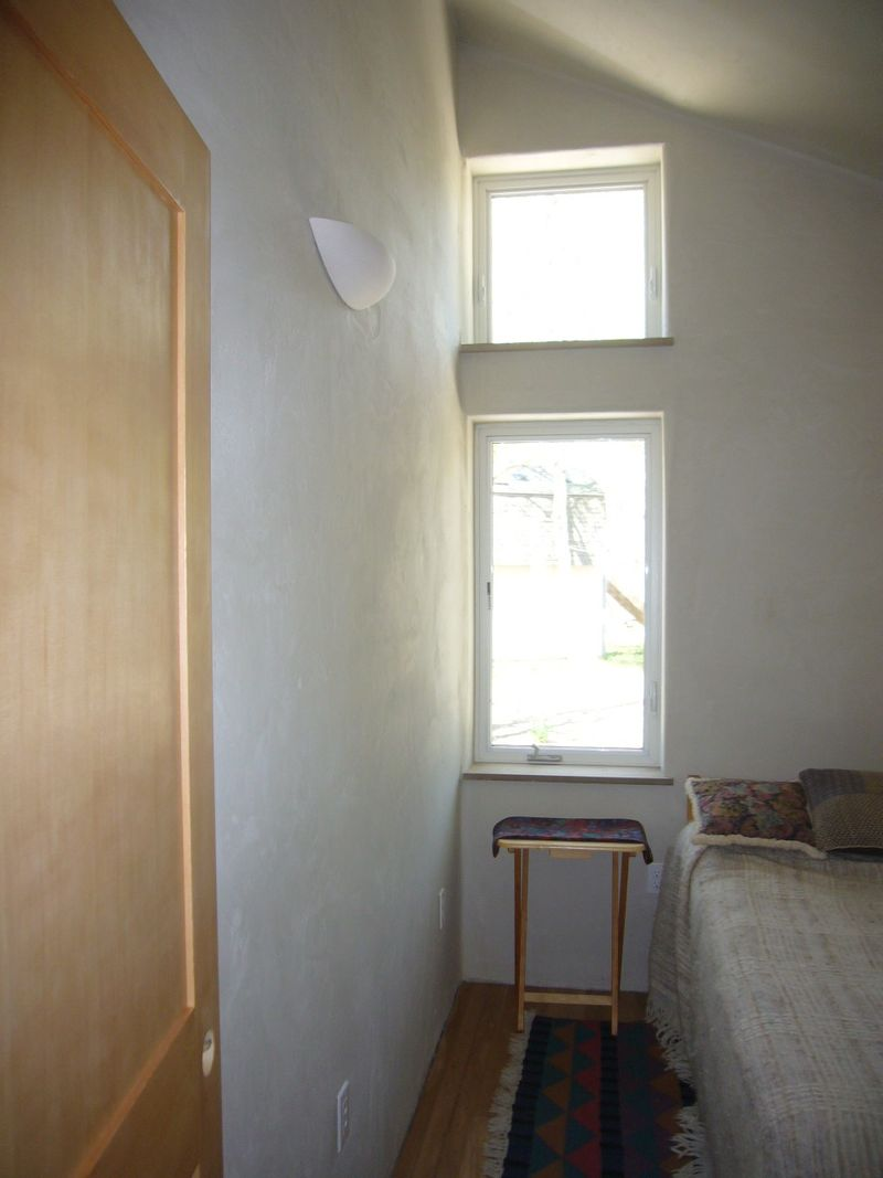 NW bedroom windows
