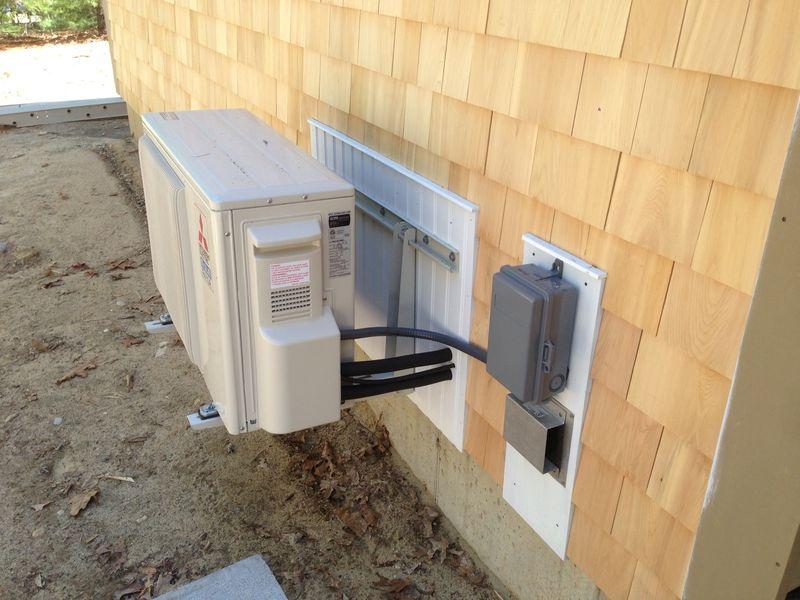 Wall mounted minisplit heat pump Kulpa